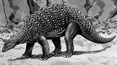 An artist's impression of Nodosaurus