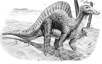 An artist's impression of Ouranosaurus