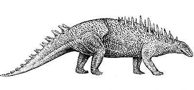 An artist's impression of Polacanthus