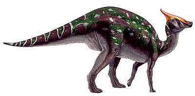 Saurolophus milieu