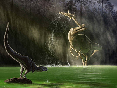 Suchomimus milieu