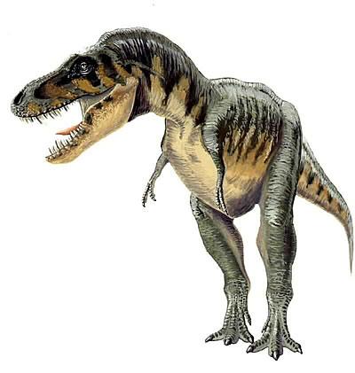 Tarbosaurus milieu