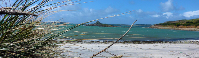 The coast of the Isles of Scilly