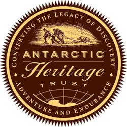 Antarctic Heritage Trust logo. Copyright: Antarctic Heritage Trust