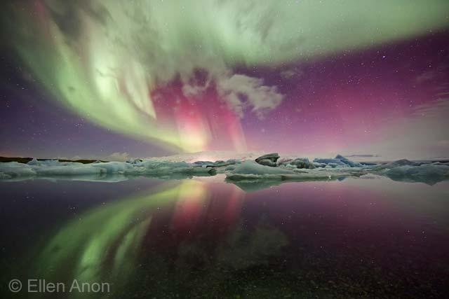 Ice aurora