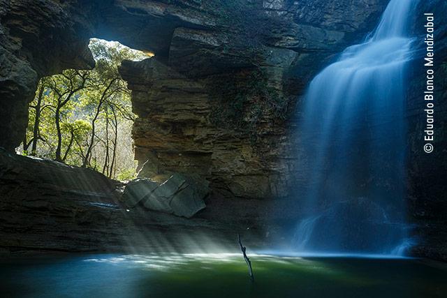 Painted Waterfall