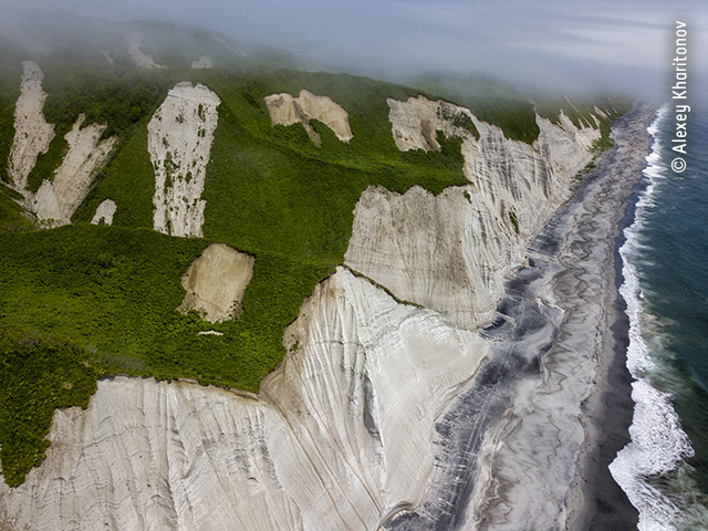 The White Cliffs of Iturup