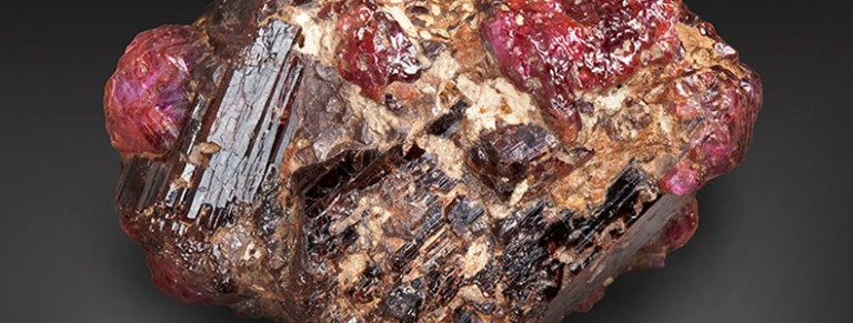 Painite, named for its discoverer British mineralogist Arthur Pain